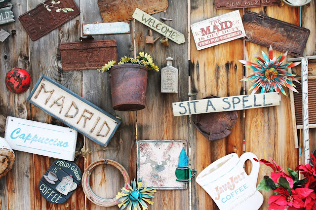 Decorate something from old things to your house