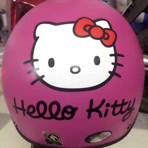 30k - Mũ bảo hiểm hình Hello Kitty hồng giá sỉ và lẻ rẻ nhất
