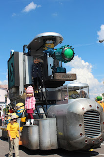 Despicable Me, Universal Studios Parade, Florida