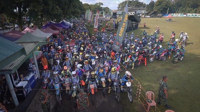 Dari Kota Malang, Yonarmed 1 Kostrad Gelar Roket Trail Adventure 2