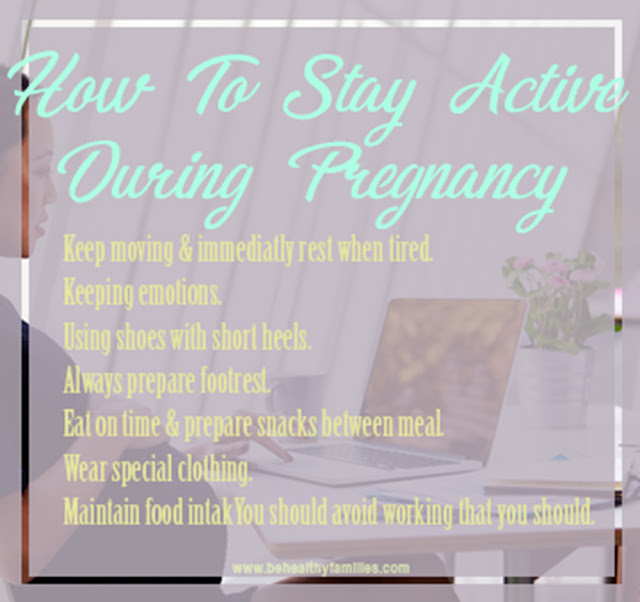 Tips for Comfortable Working While Pregnant
