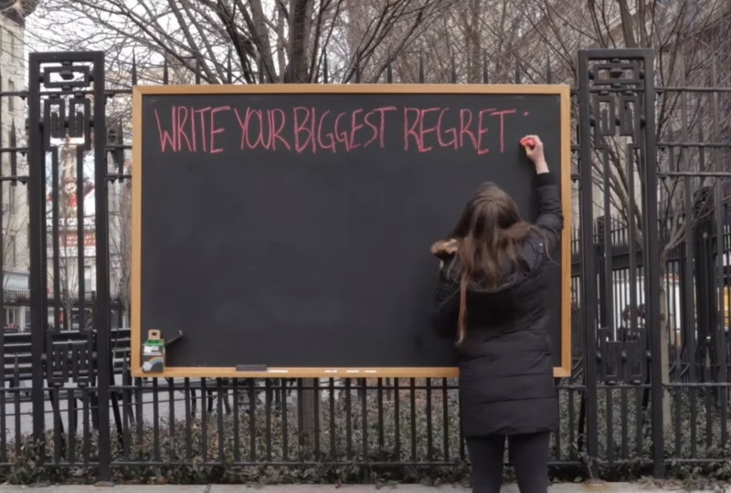 Strangers Wrote Their Biggest Regrets…They All Used The Same Three-Letter Word.