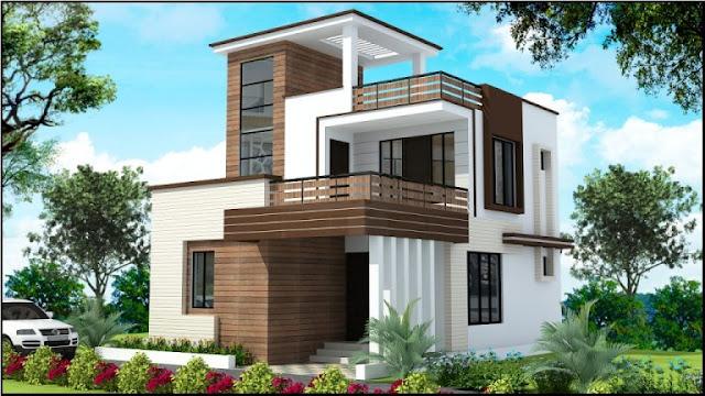 4 Bed Room Duplex House For Sale at Syamala Nagar