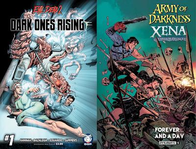 Ash a fumetti (Evil Dead 2 e Army of Darkness)