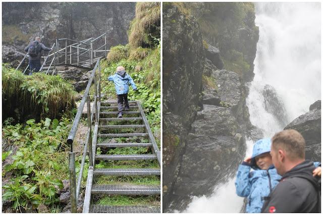 Riesachwasserfall Herbst Wald Oesterreich Wandern mit Kindern Jules kleines Freudenhaus
