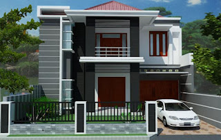 Gambar Desain Rumah 2 Lantai 01