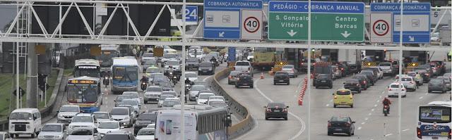 Cariocas e Fluminenses tem aumento de cobrança de pedágio em duas Vias Expressas