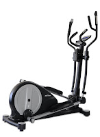 JTX Tri-Fit Cross Trainer with adjustable stride length, adjustable incline, 16 SMR resistance levels, 19 programs, Bluetooth, iConsole