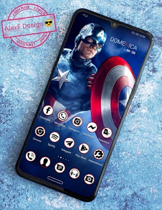 Captain America 🇺🇲 by AlexF Design