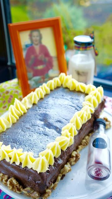 Fanny Cradock Thankyou Christmas Cake