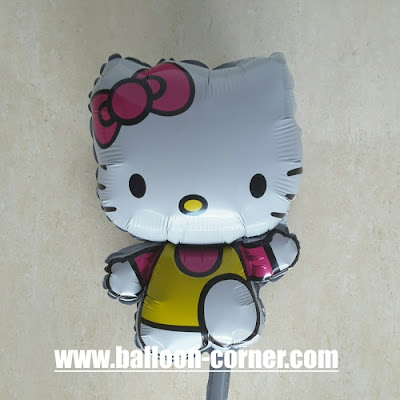 Balon Foil Hello Kitty Run Mini