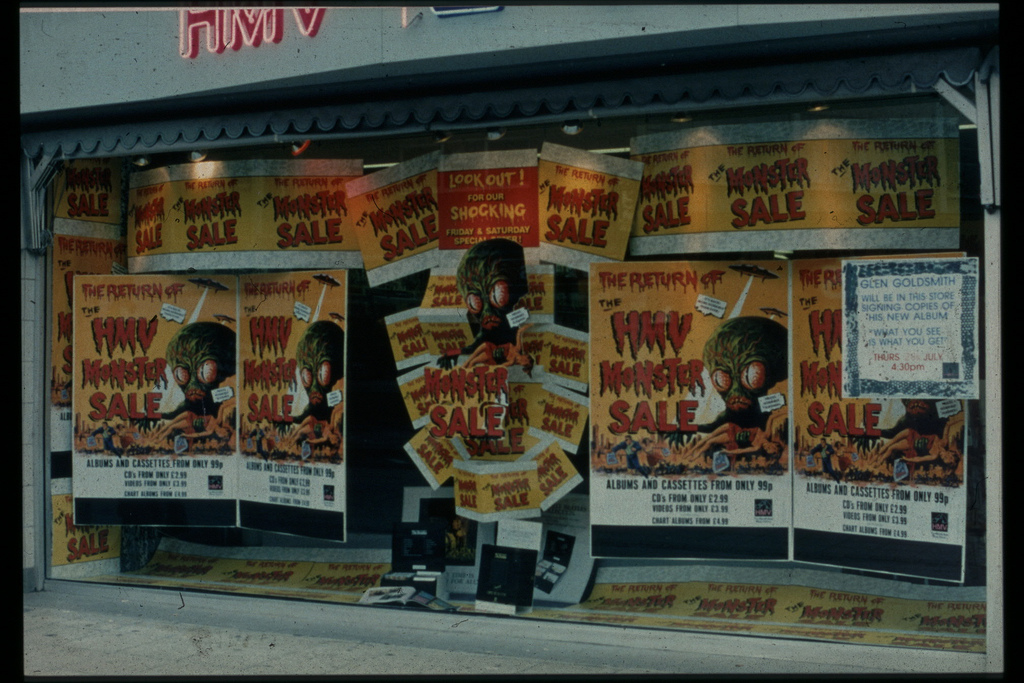 How Hmv Stores Looked Like In The Uk From Early 1980s