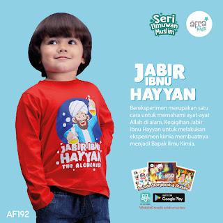 Kaos anak laki laki karakter islami