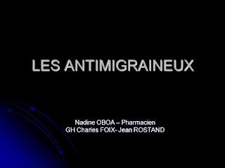 LES ANTIMIGRAINEUX .pdf