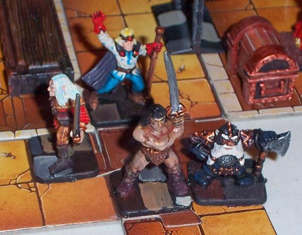 5 Juegos De Mesa Frikis De La Era Pre Friki Hero Quest Cruzada