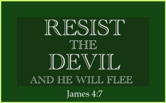 Resistance Against Satan