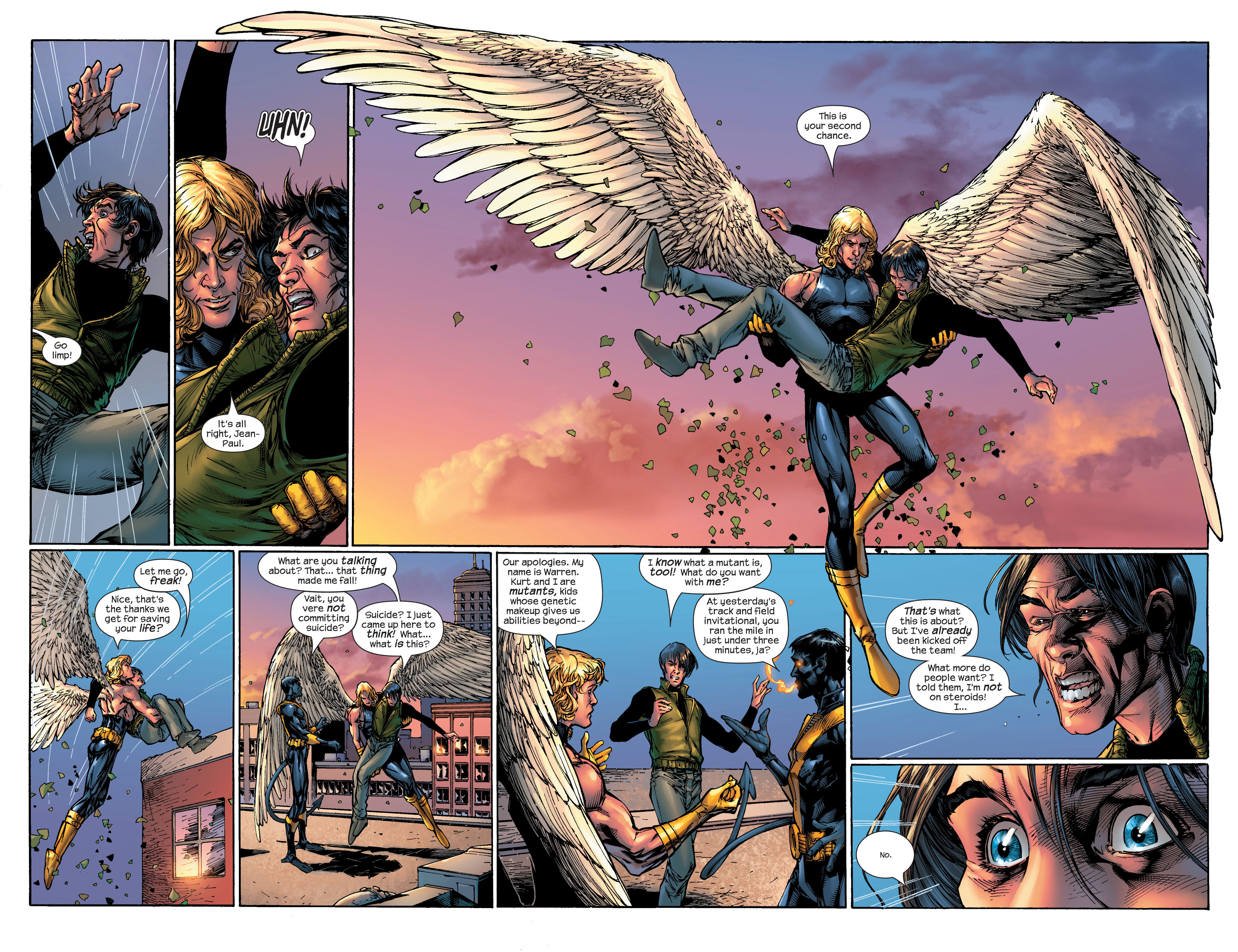 Read online Ultimate X-Men comic -  Issue #46 - 5