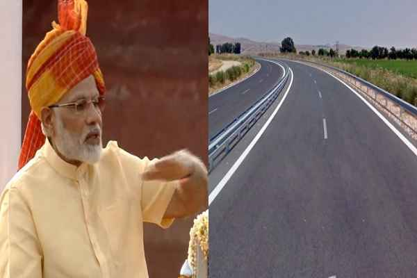 pm-modi-said-road-construction-at-double-speed-than-congress