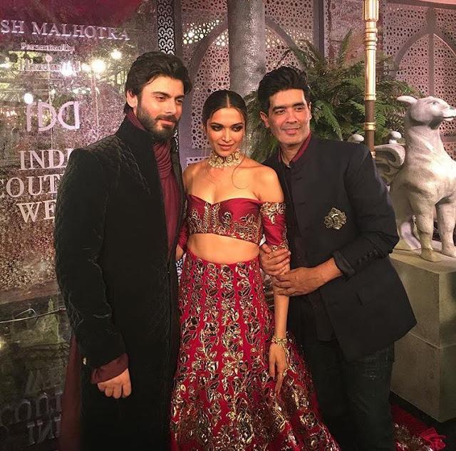 Fawad Khan with Deepika Padukone Ramp walk Went Viral