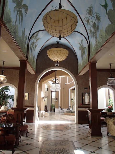 Mediterranean Village lobby
