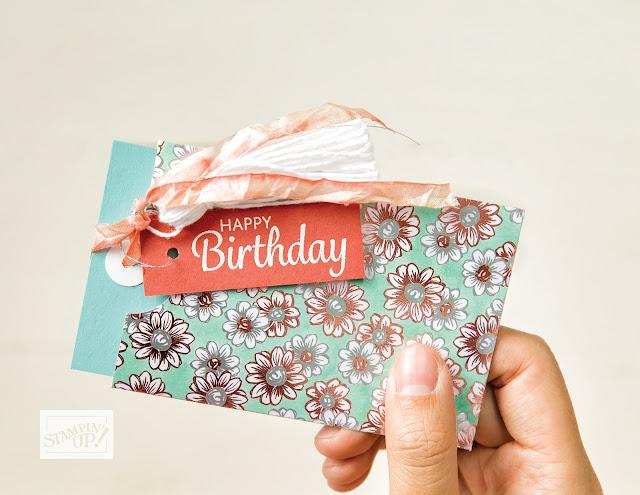 Stampin' Up Sale-a-Bration second release Flowering Foils Specialty Designer Series Paper sample