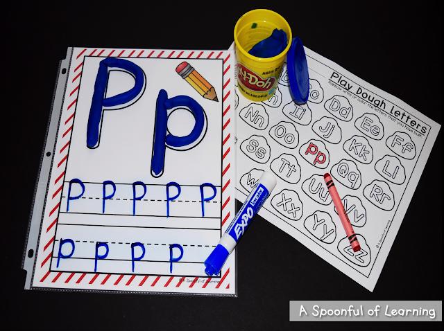 Alphabet Center Activities 2