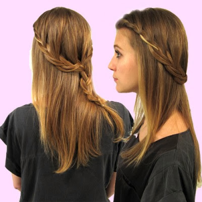 peinados trenza pelo suelto tutoriales de peinados para cabello largo seventeen