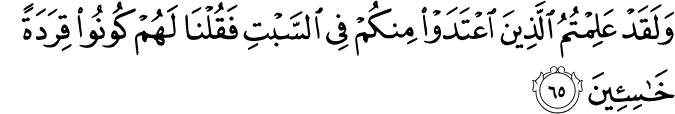 Surat Al-Baqarah Ayat 65