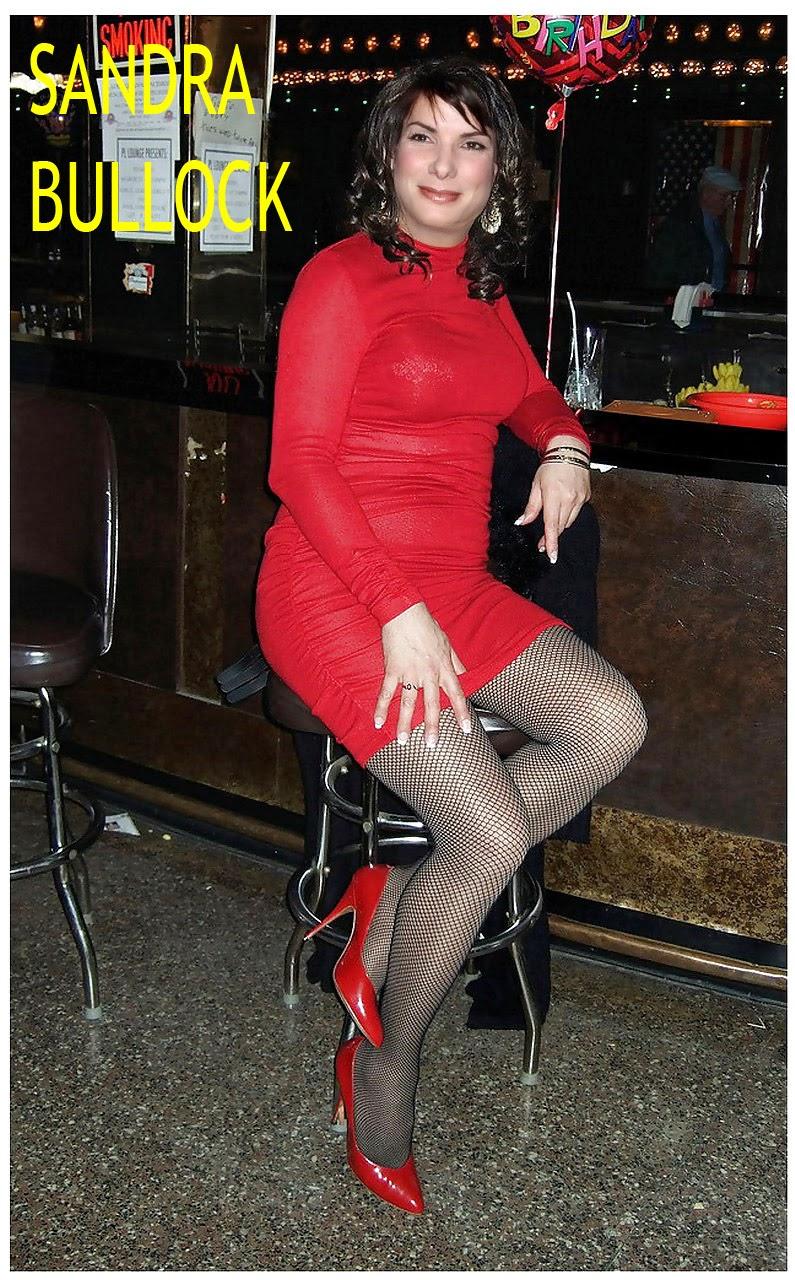 Celebrity Transvestite Fakes: Sandra Bullock