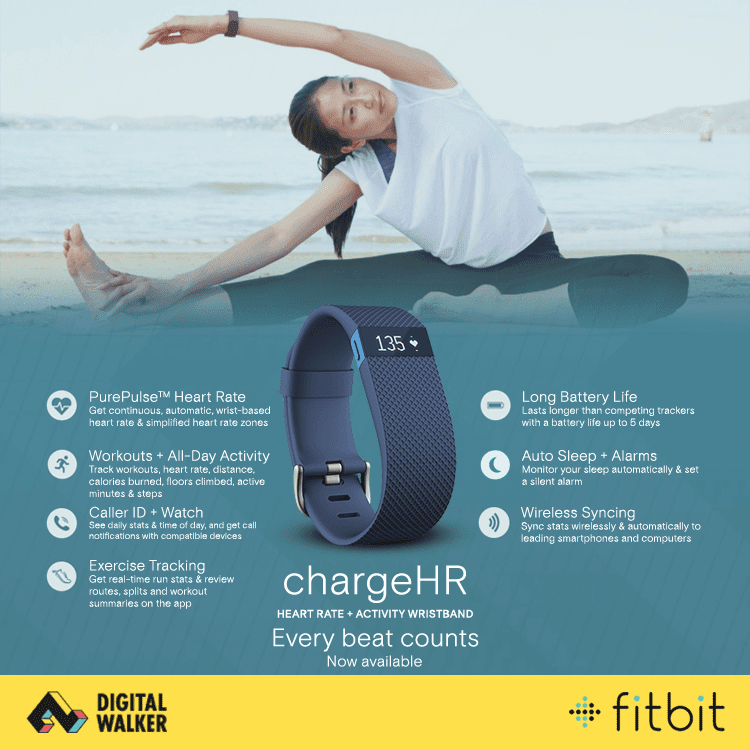 Fitbit Now In The Philippines Thru Digital Walker! Time To Get Healthy Again!