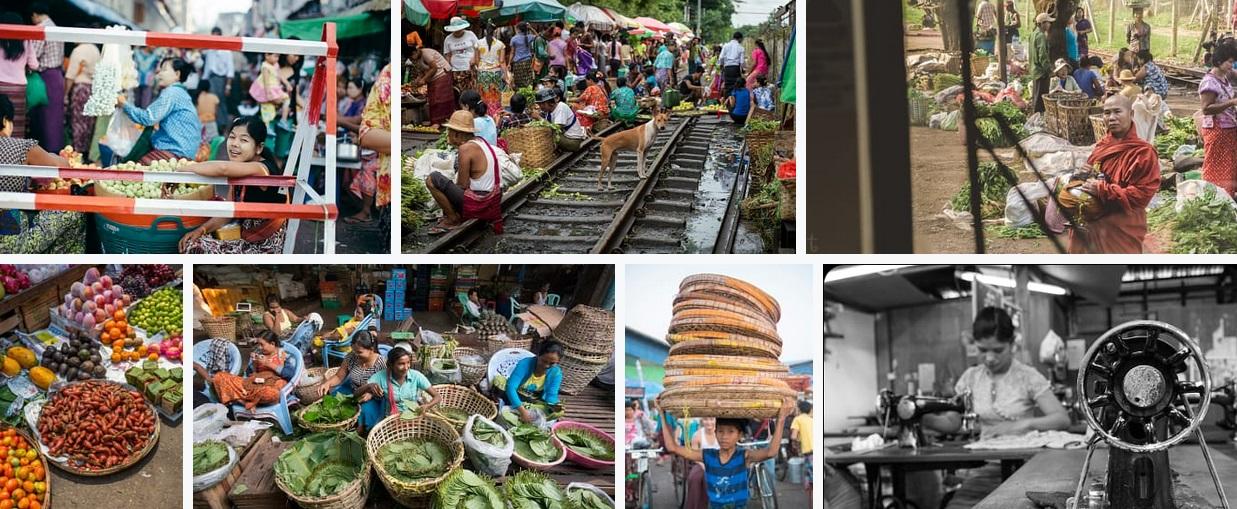 yangon local markets