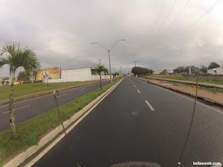 Deixando a cidade de Cruz das Almas/BA.
