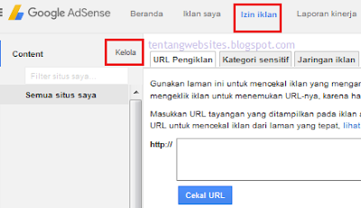 Cara upgrade akun AdSense hosted jadi non hosted