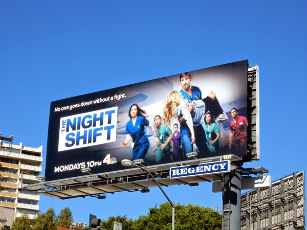 The Night Shift season 2 NBC billboard