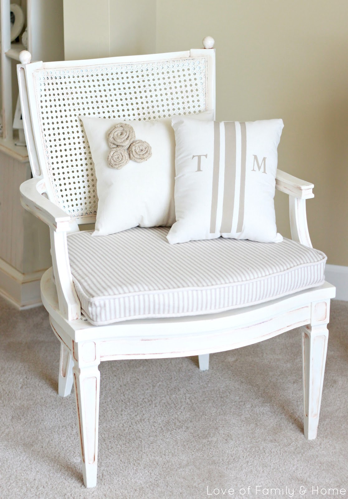 Thrift Store Chair Makeover  Love of Family  Home