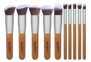 bsmall premium synthetic kabuki makeup brush set 599