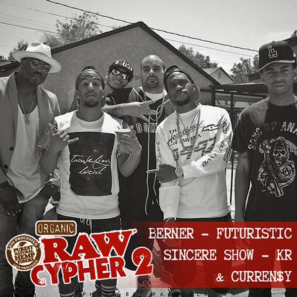 Berner - Raw Cypher 2 - Single Cover