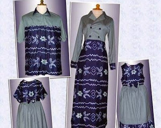 model baju atasan sasirangan wanita