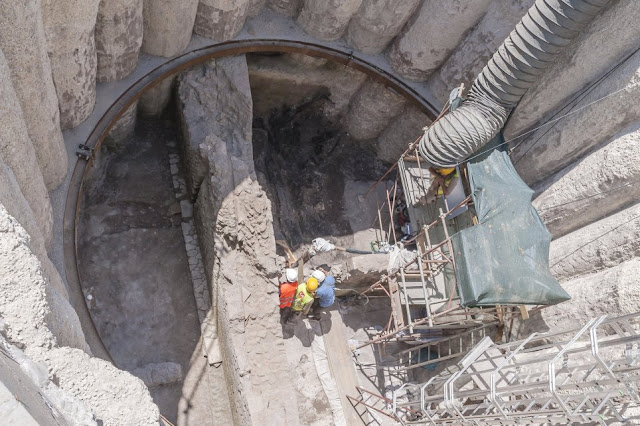Rome metro excavations unearth 3rd century 'Pompeii-like scene'