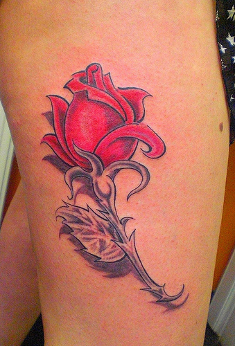 Rose Tattoos For Woman: Hairstyles 2012: Rose Tattoo Designs For Women