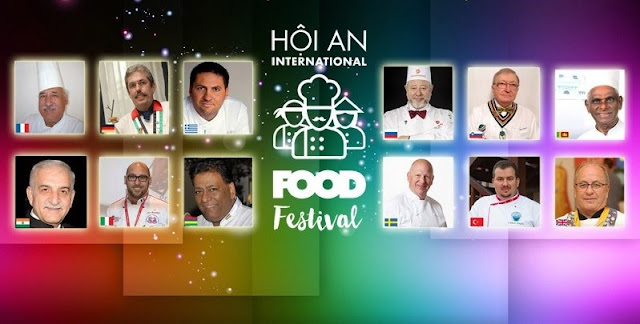 The expected detailed schedule of activities  at The Hoi An International Food Festival 2017