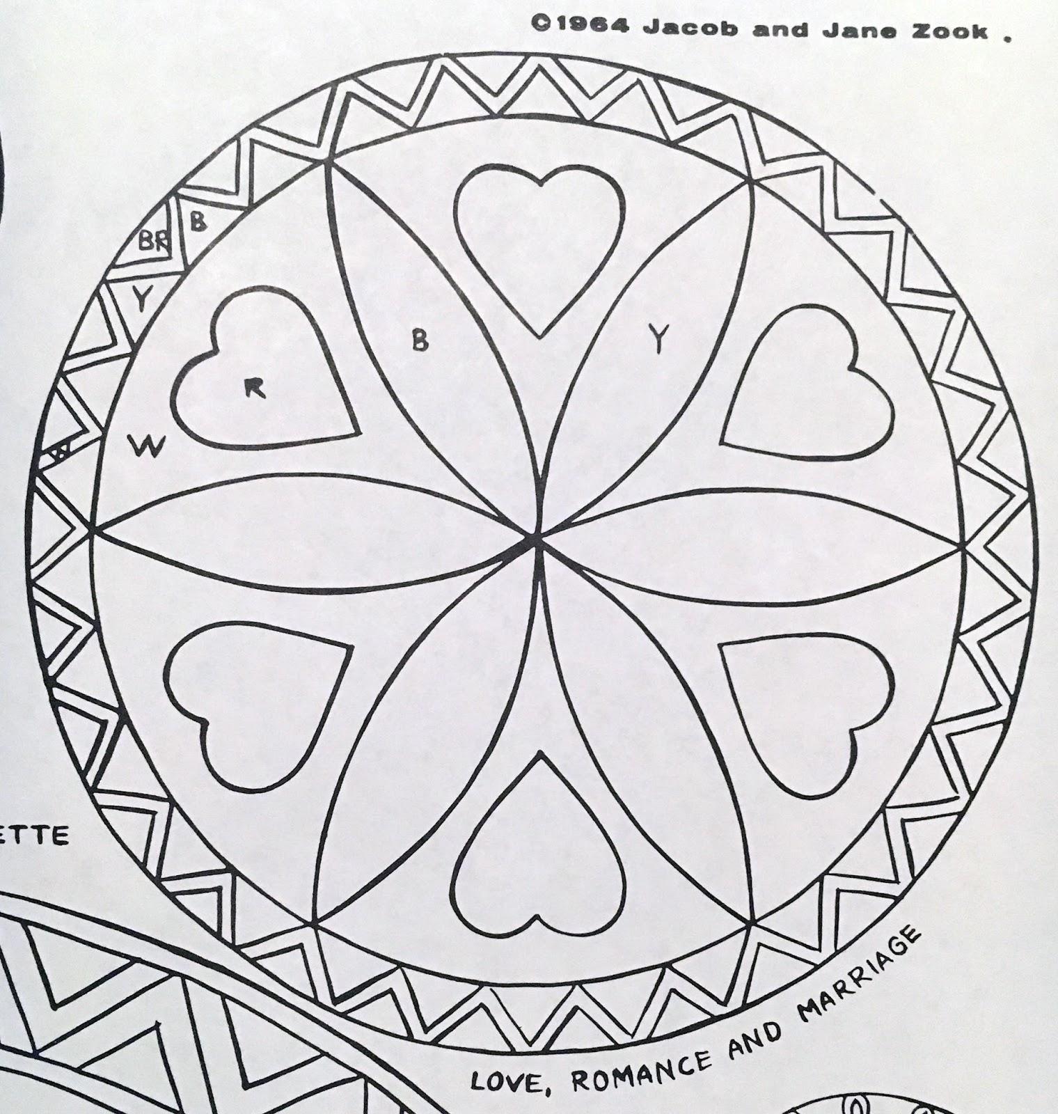 The Monkey Buddha Amish Hex Sign Rosette Patterns
