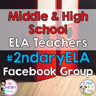 Looking for a supportive environment for Grades 6-12 ELA teachers? Join our #2ndaryELA Facebook Group to connect with other English Language Arts educators.
