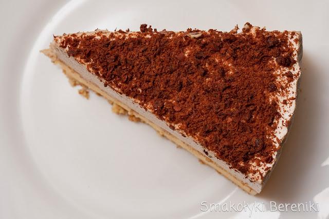 ciasto bez pieczenia o smaku cappuccino