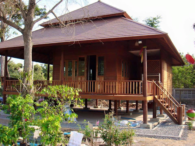 75 Designs Of Houses Made Of Wood Bamboo And Other