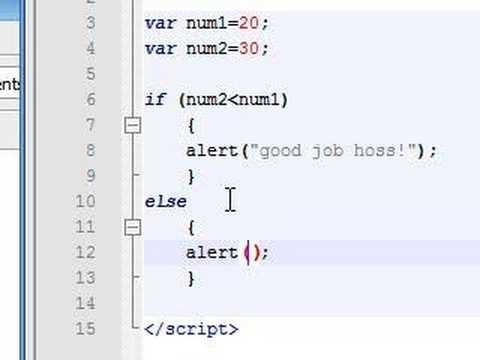 javascript koşullu ifadeler