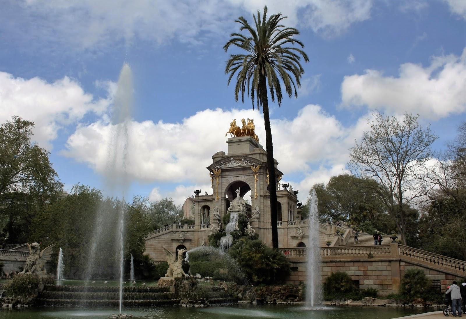 Fontein Ciutadella park Barcelona