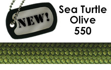 Paracord 550 Color of the Month for June: Sea Turtle Olive.
