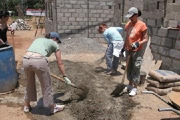 Приготовление бетона в ручную