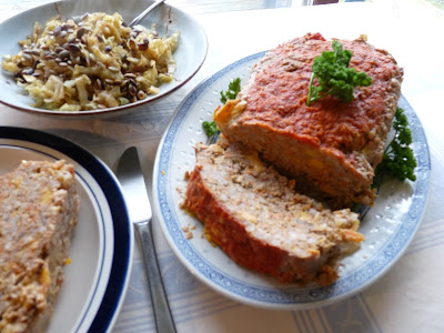 Dad's Barley & Cheese Meatloaf